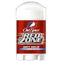 Irrelevant picture of Red Zone deodorant.  Or something.